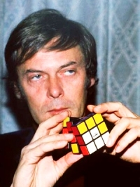 Erno Rubik inventor of the cube