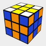 Rubik´s Cross pattern