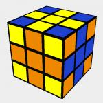 Rubik´s Cross 2 pattern