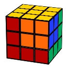 Ron's cube in a cube Rubik´s Cube pattern