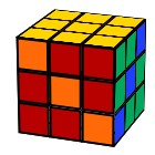 Slash Rubik´s Cube pattern