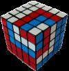 5x5 professors cube spiral pattern