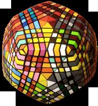 petaminx checkerboard
