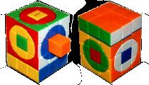 circles i-Cube 3x3x4 crazy