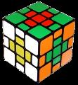 cross 3х3х3 mixup plus cube