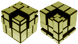mirror cube patterns python