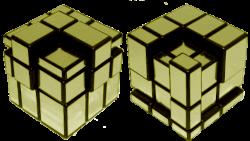 mirror cube patterns python