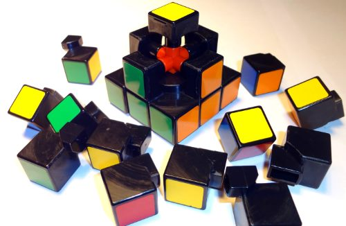 Great Disassembled Rubiks Cube