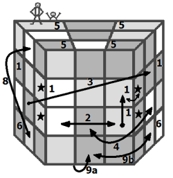 3x3x4 solution algorithm