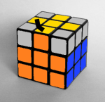 How to solve the Rubiks Cube swap yellow edges