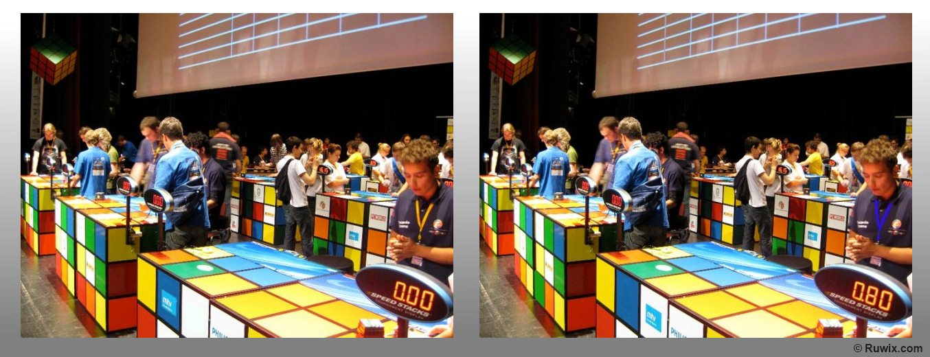 Rubik's Cube wca speedcubing competition spot the difference