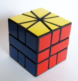 solved square-1 cube