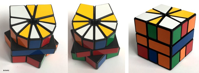 make cube shape first