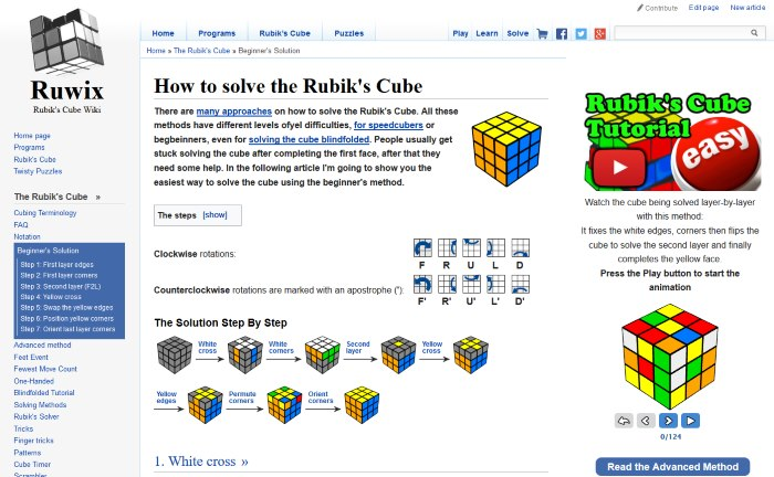How To Play Rubiks Cube Pdf