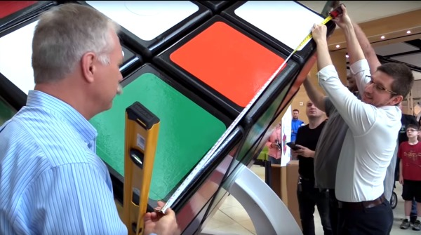 largest rubiks cube record 1.68m