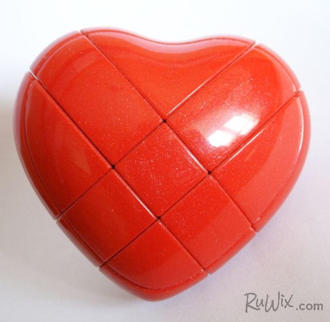 3x3x3 YJ Heart Puzzle 3x3x3 Rubik's Valentine's Day