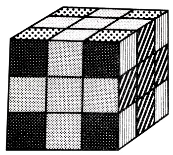 crosses rubiks cube pattern